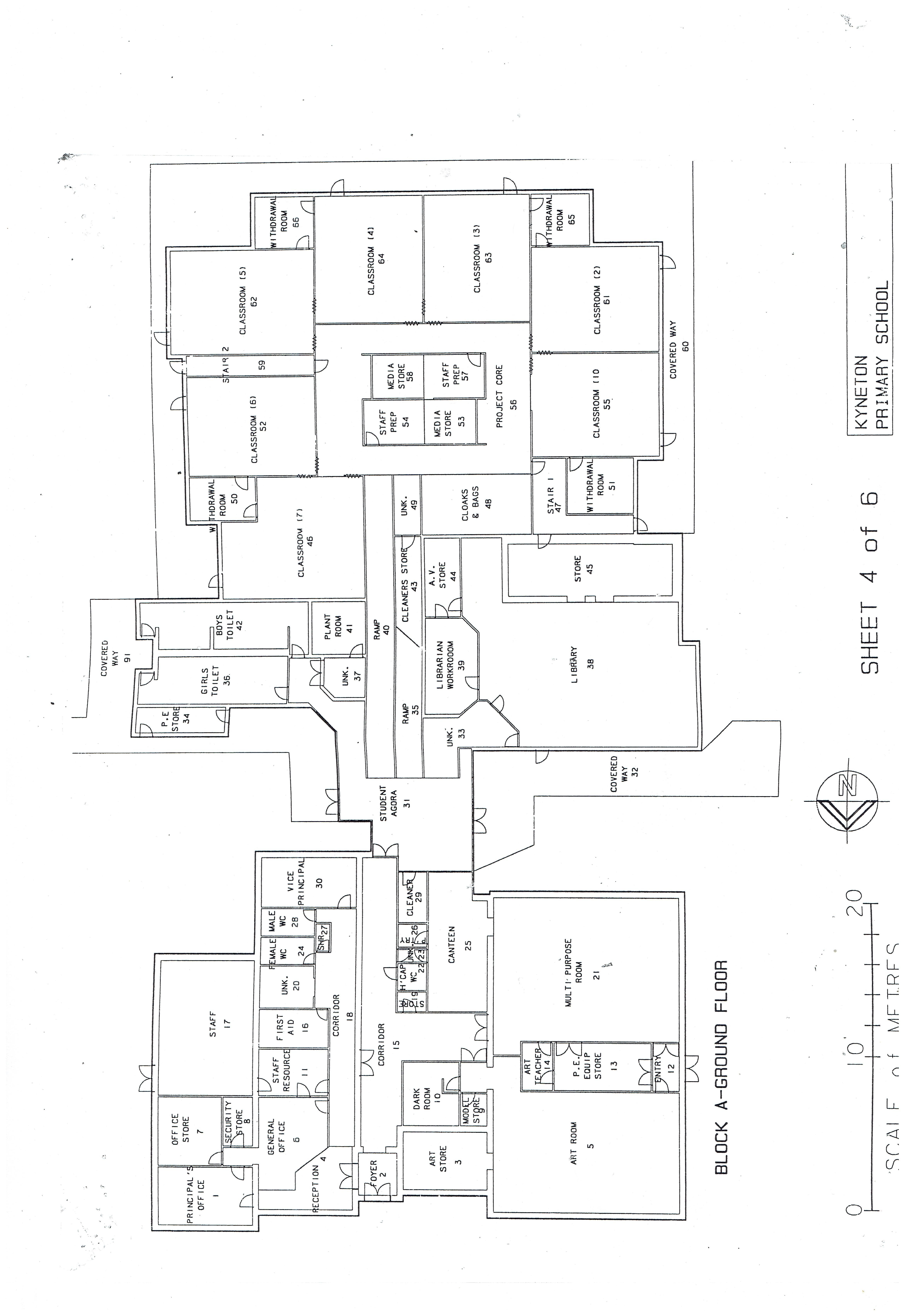 School Floor Plan Kyneton And District Town Square Co Op